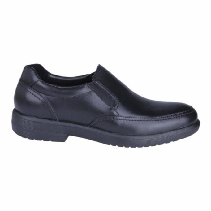 Ns Sale Hush Puppies Sepatu Slip On Pria Reign Slip On - Black