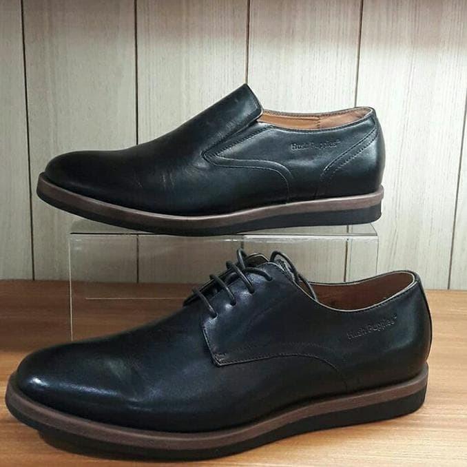 Ns Sepatu Pria Hush Puppies Ori Murah   Sale   Original   Pantofel 92b66339f5