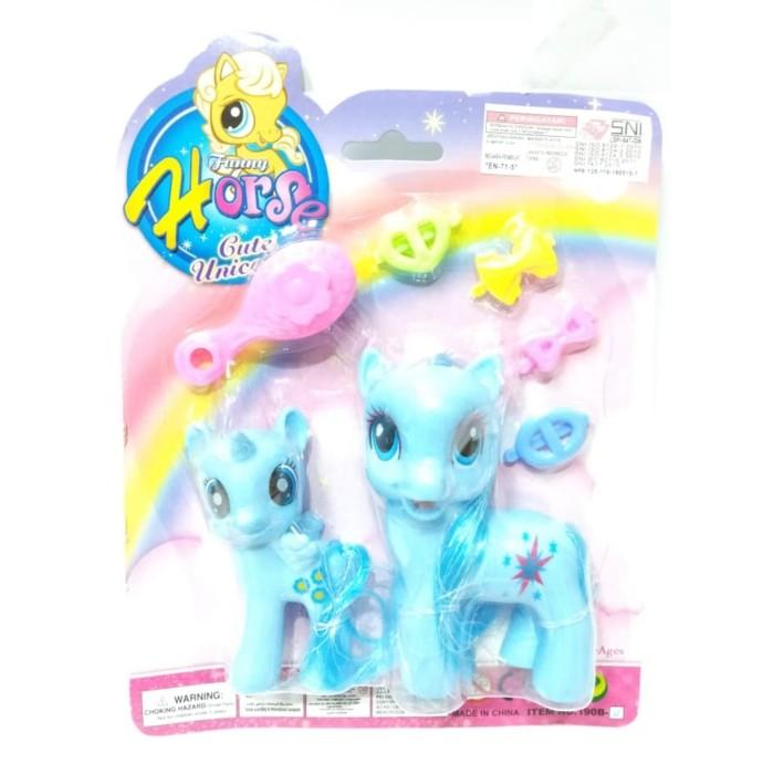 harga My little pony funny horse mainan anak perempuan Tokopedia.com