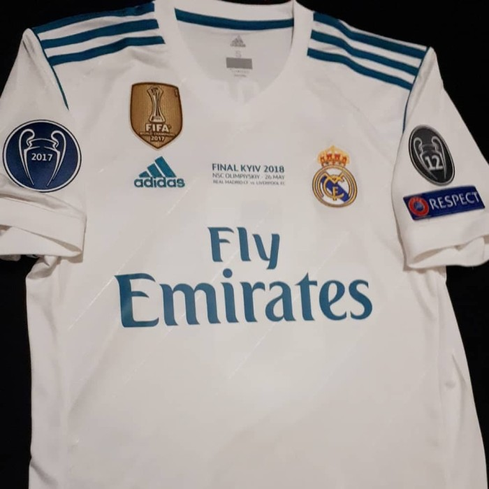 more photos 1041f 3f32d Jual Jersey Real Madrid Original 2017-2018 Final Kyiv Champions League -  Jakarta Timur - Jakarta Jersey Club | Tokopedia