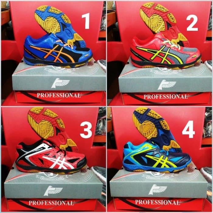 Sepatu Pria Olahraga Badminton/Bulutangkis/voli/Tenis Original Murah