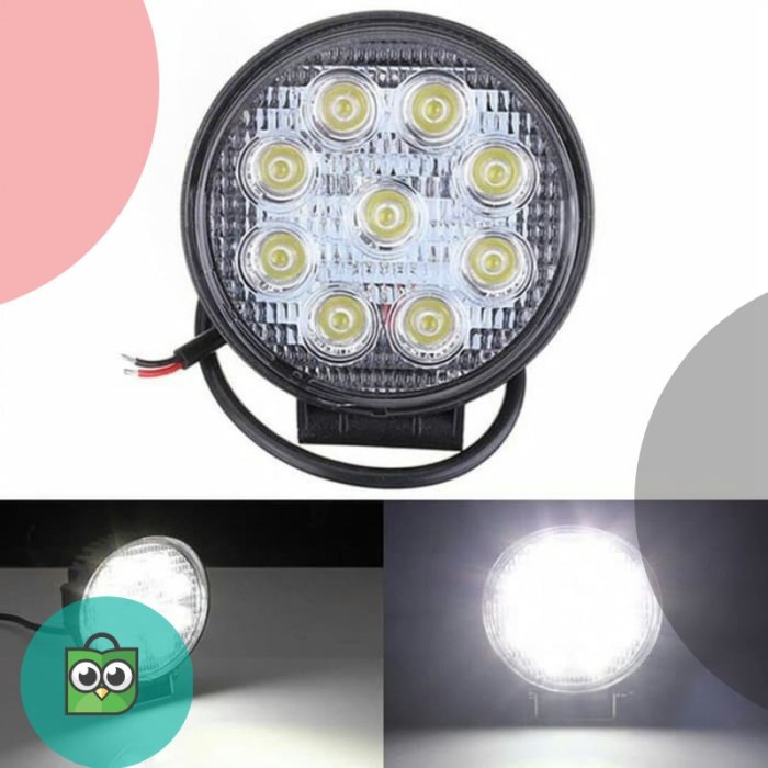 Jual Lampu Sorot Worklight Led Bulat