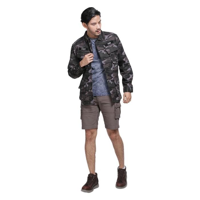 harga Eiger 1989 camo utility jacket shirt - olive / jaket pria - hijau m Tokopedia.com