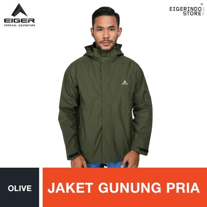 harga Eiger wallstone jacket - olive / jaket pria - hijau m Tokopedia.com