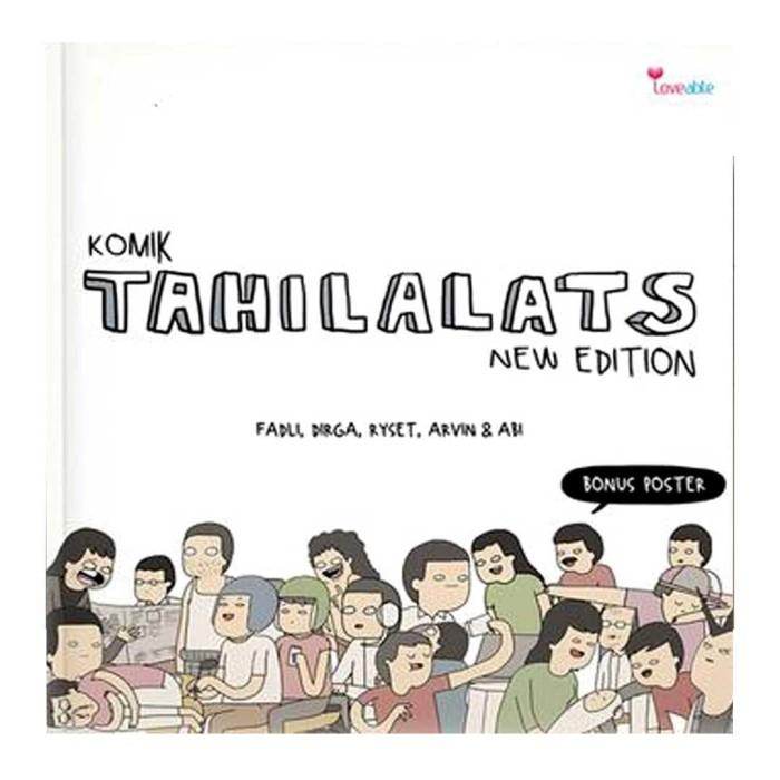 harga Komik tahilalats new edition Tokopedia.com