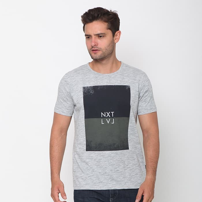 Cressida nextlevel print nxtlvl t-shirt pria i359 - abu abu - abu-abu c3e40480f2