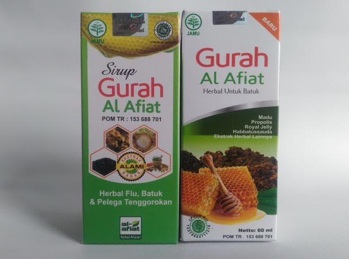 Herbal Sirup Madu Gurah 75 Ml