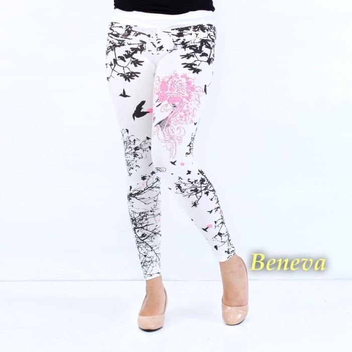 Jual Celana Legging Wanita Celana Senam Wanita Motif Bunga Pink Jakarta Pusat Chaily Tokopedia