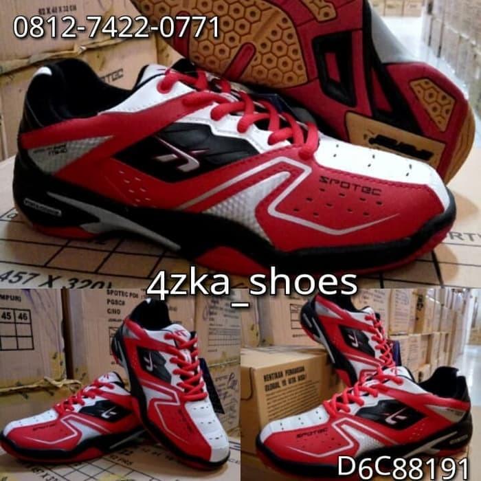 Jual Sepatu Badminton Spotec Double Hit - maju bersama 85  09d2687d28