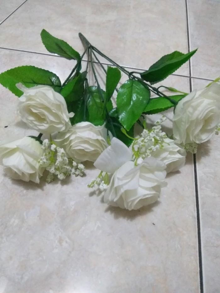 Jual Bunga Mawar Plastik Kab Majalengka Edelweishopdecor Tokopedia