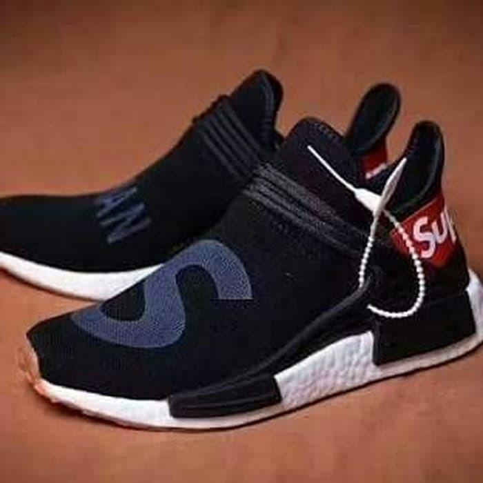 meet c71fa 791e0 Jual Sepatu Adidas NMD Human Race Pharrell Williams Race Supreme - Premium  - DKI Jakarta - Kinya Store   Tokopedia