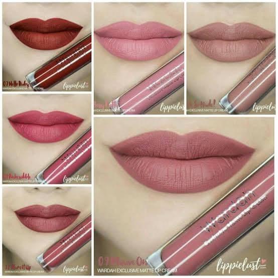 Foto Produk Wardah exclusive matte lip cream dari vii.olshop