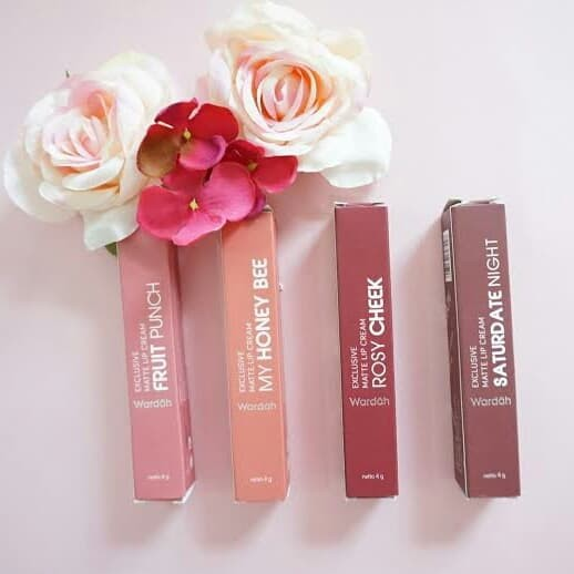 Foto Produk Wardah exclusive matte lip cream dari vii.olshop