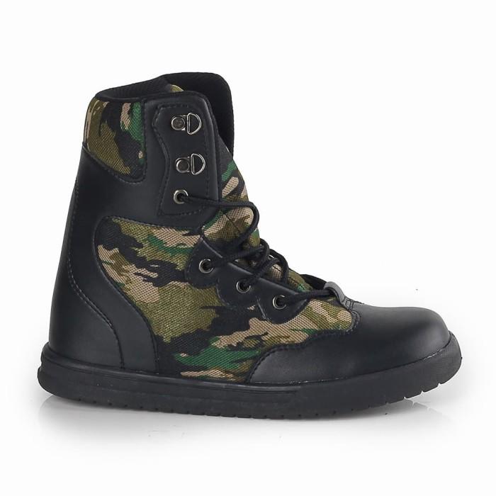 harga Irpdcg Sepatu Boot Army Outdoor Anak Laki - Laki Cowok Perempuan Cewek Blanja.com