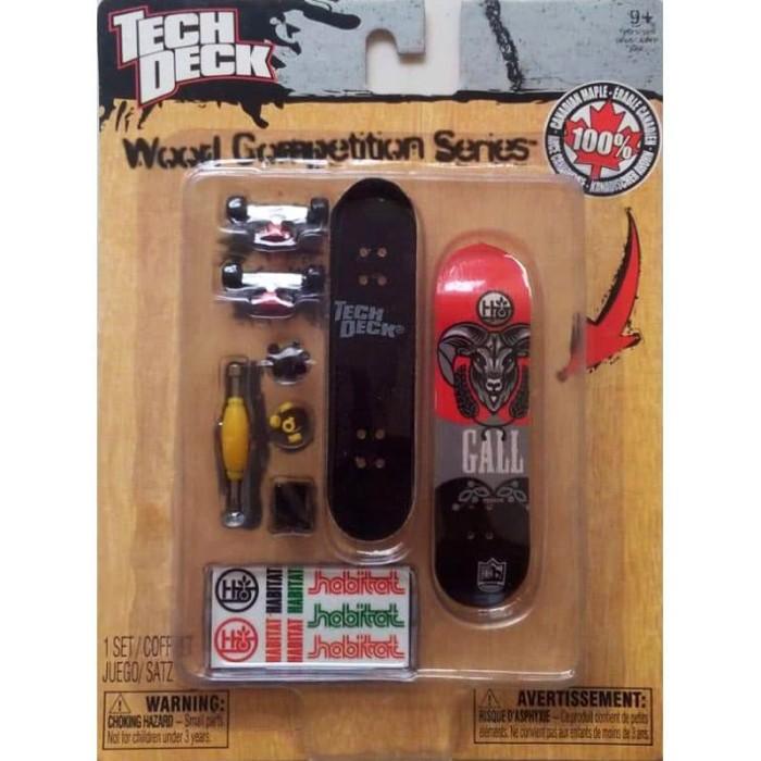 harga Fingerboard tech deck mini skateboard wood competion series Tokopedia.com