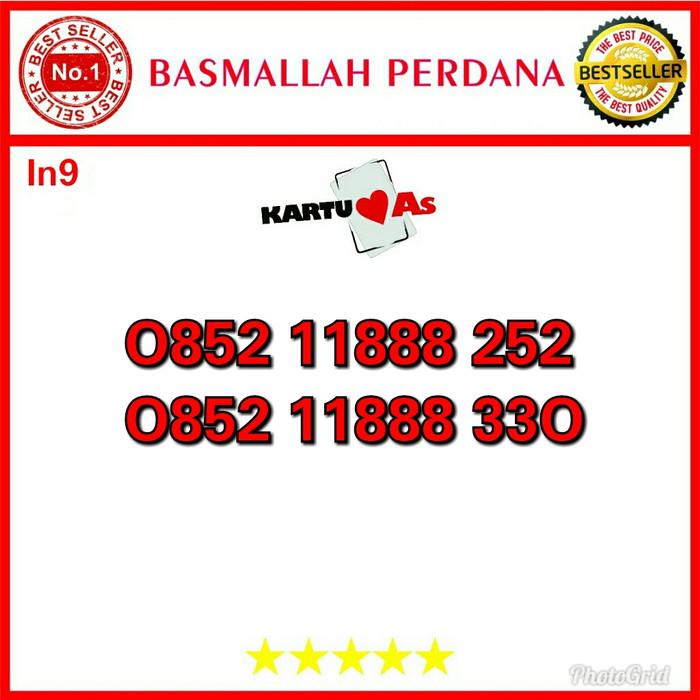 Nomor Cantik Telkomsel As Seri Triple 888 0852 11888 252 in9