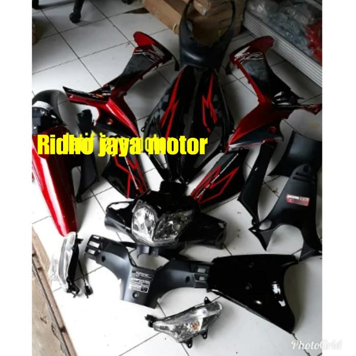 Foto Produk bodi supra 125 new full dan lampu dari Ridho jaya motor