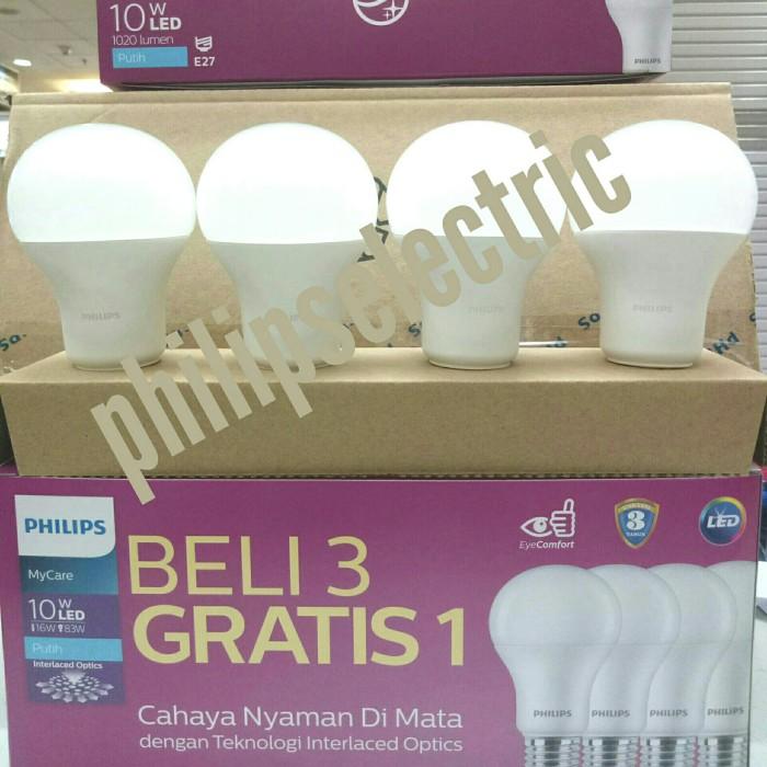 LAMPU LED PHILIPS 10.5 WATT 10,5 WATT 10.5WATT 10,5WATT PAKET 4