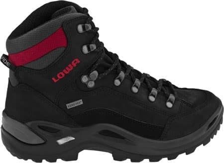 harga Sepatu trekking lowa renegade gtx mid black sepatu gunung Tokopedia.com