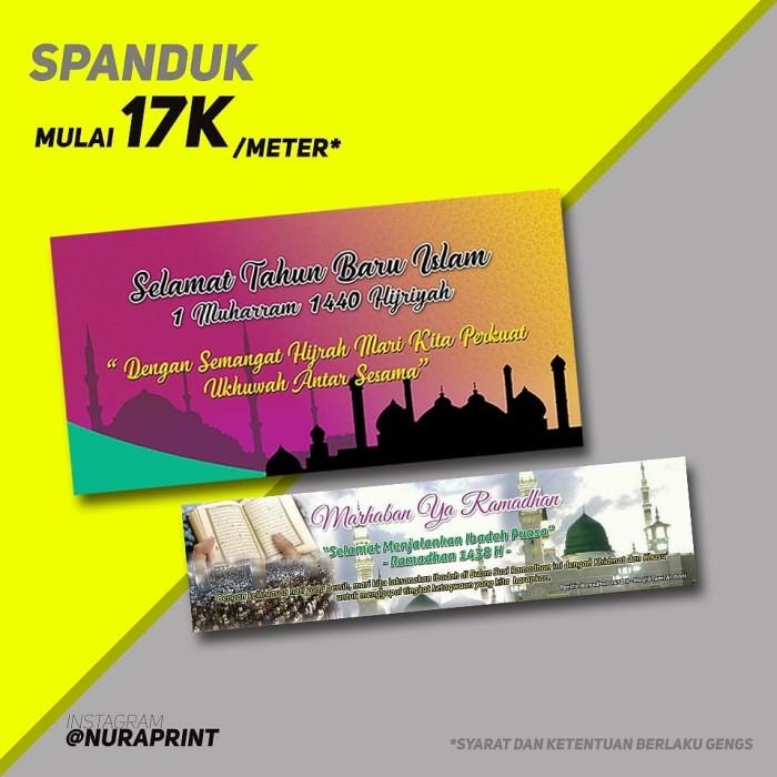 Jual Spanduk Baliho Banner Promosi Jakarta Pusat Hanifaallstore Tokopedia