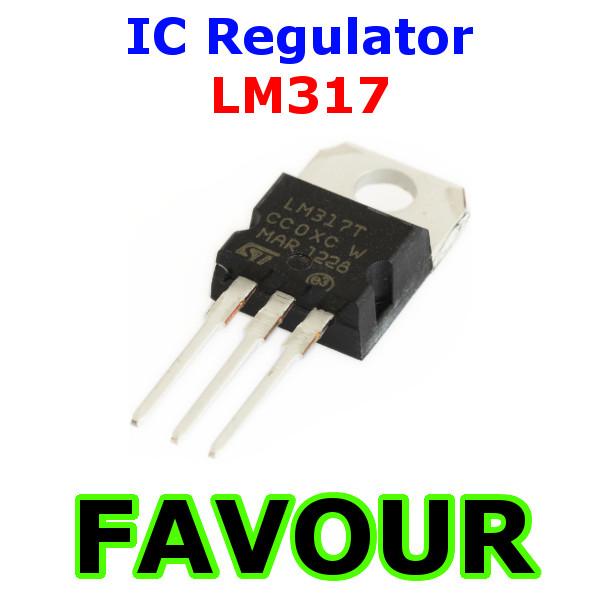 30PCS IC LM317 LM317T VOLTAGE REGULATOR DATE CODE:11+