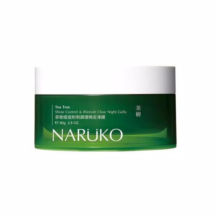 harga Naruko tea tree shine control & blemish clear night gelly 80g