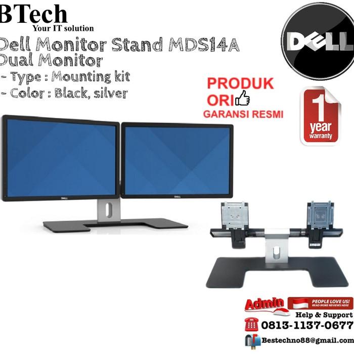 harga Dell dual monitor stand - mds14a Tokopedia.com