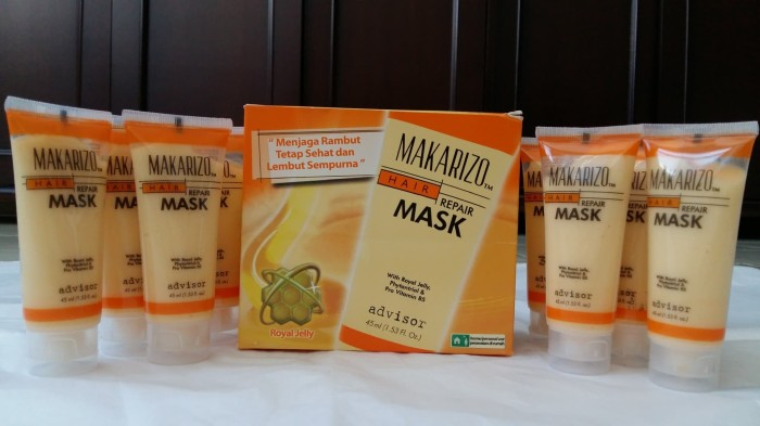 Makarizo Hair Mask Repair Masker Rambut Tube 45ml Advisor - Daftar ... c6e9c41f81