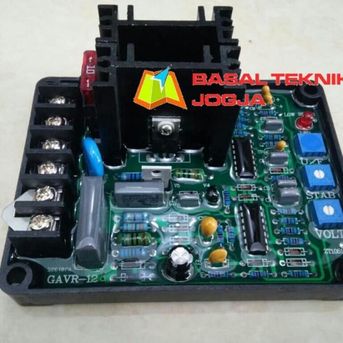 harga Gavr-12a avr 12a generator automatic voltage regulator modul genset Tokopedia.com