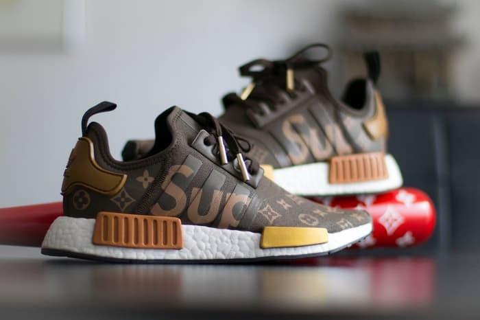 best sneakers 7122a 8726a Jual Sepatu ADIDAS NMD R1 x Supreme x Louis Vuitton Boost Grade - Kota  Bandung - zada46 | Tokopedia