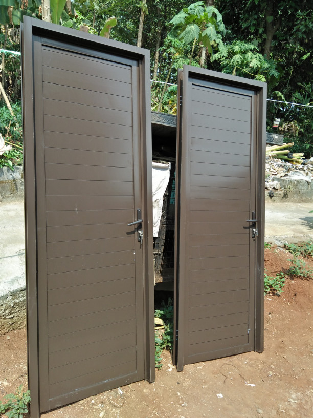 Jual Pintu kamar mandi aluminium - Kota Depok - kusen ...
