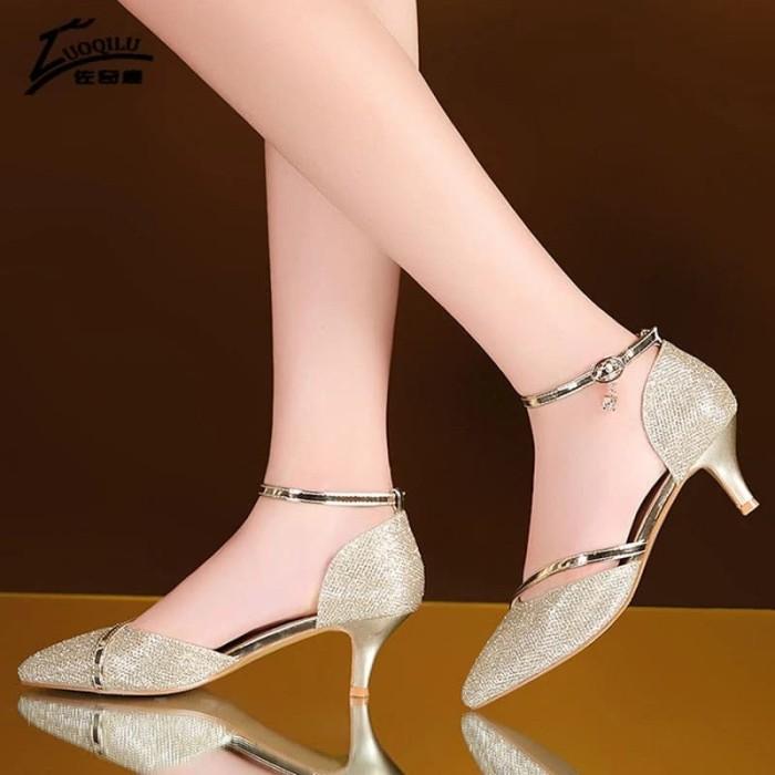 Foto Produk HEELS DUBAI LIVIA EMAS - Emas, 40 dari Clarisse Shoes