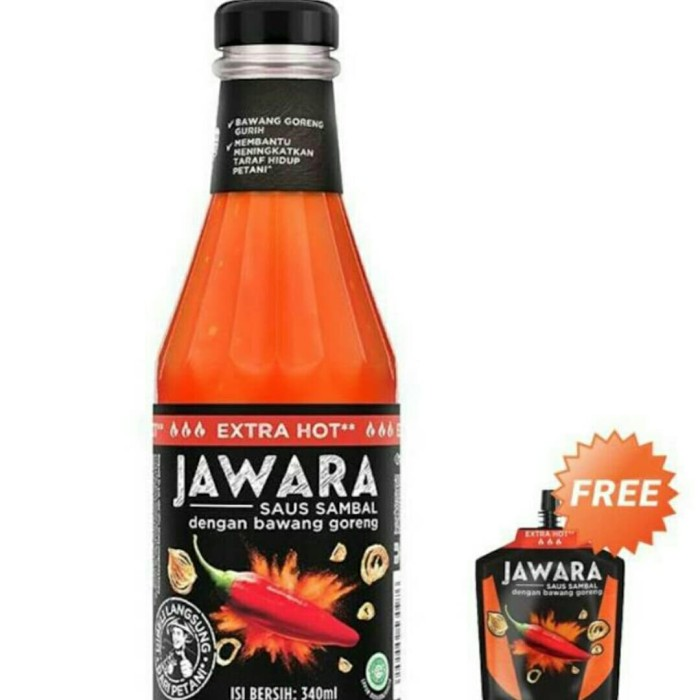 Download Jual Jawara Chili Sauce Extra Hot Bottle 340 Ml Free Jawara Chili Sauce Jakarta Utara Carlino Auto Tokopedia PSD Mockup Templates