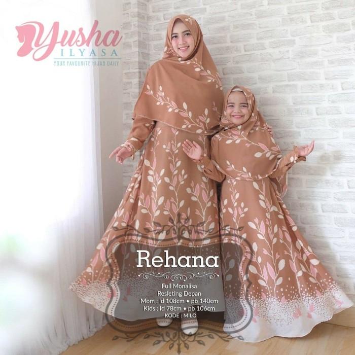 photograph relating to I Mom named Jual Baju Gamis Wanita Terbaru Rehana Syari Mother Small children - Kota Samarinda - yasmin mbem Tokopedia