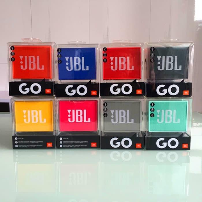 JBL GO Portable Bluetooth Speaker Original Garansi IMS - Hitam