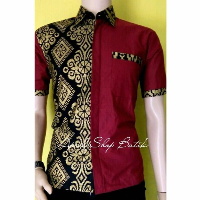 Jual Best Model Baju Atasan Sarimbit Batik Couple Pra Da Kombinasi New Col Dki Jakarta White Roses Tokopedia
