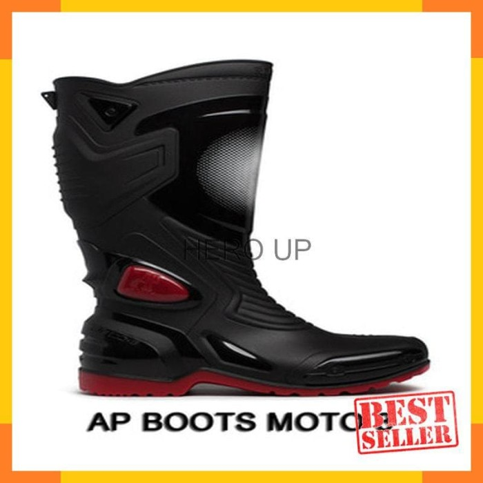 Jual Sepatu touring cross trail balap drag Anti Air AP BOOTS MOTO 3 ... 928d680f13