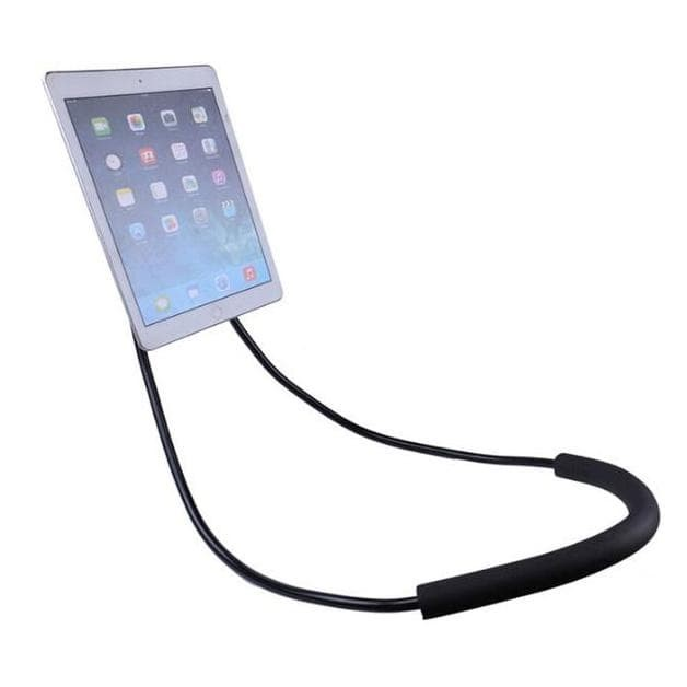 HOLDER LEHER HP LAZY HANGING NECK CELL PHONE STAND MOUNT NECKLACE