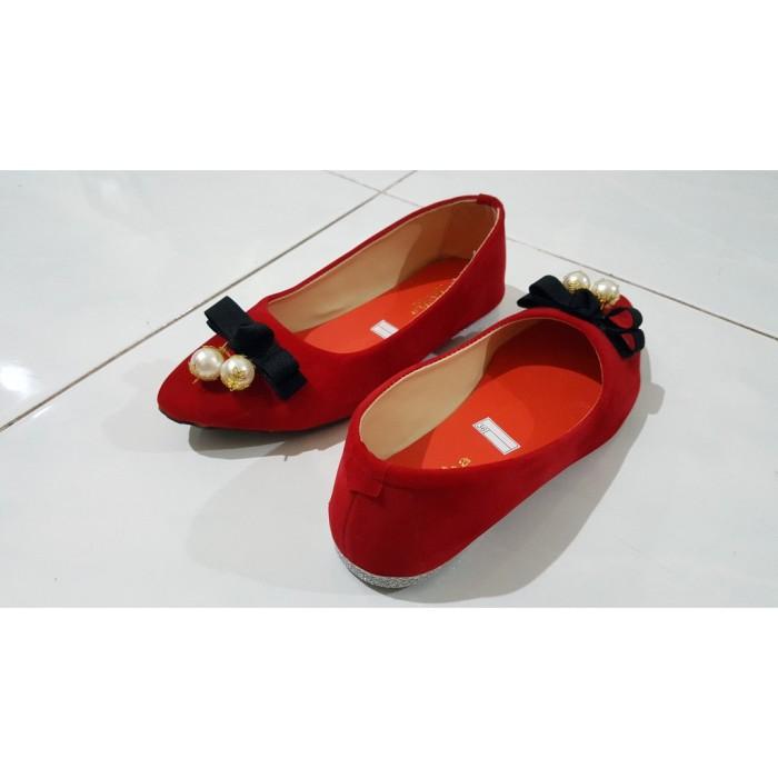 Produk I 31 Flatshoes TA02 - Merah Flat Shoes