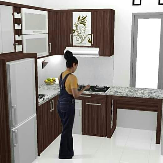 Jual Kitchen Set Minimalis Murah Kab Jepara Kitchen Set Jepara Tokopedia