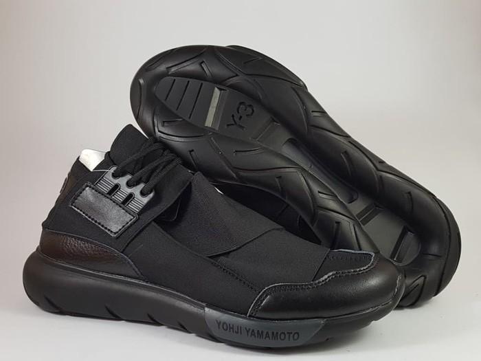 f3ccf5b53 Jual Sepatu Pria ADIDAS Y3 Yohji Yamamoto Casa High Black Premium ...