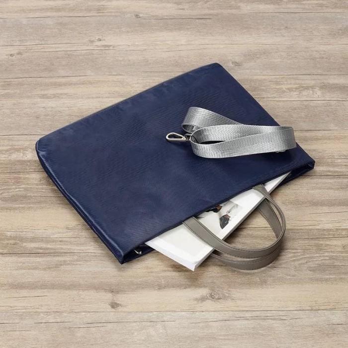 harga Tas laptop sleeve selempang 14 inch - navy blue Tokopedia.com