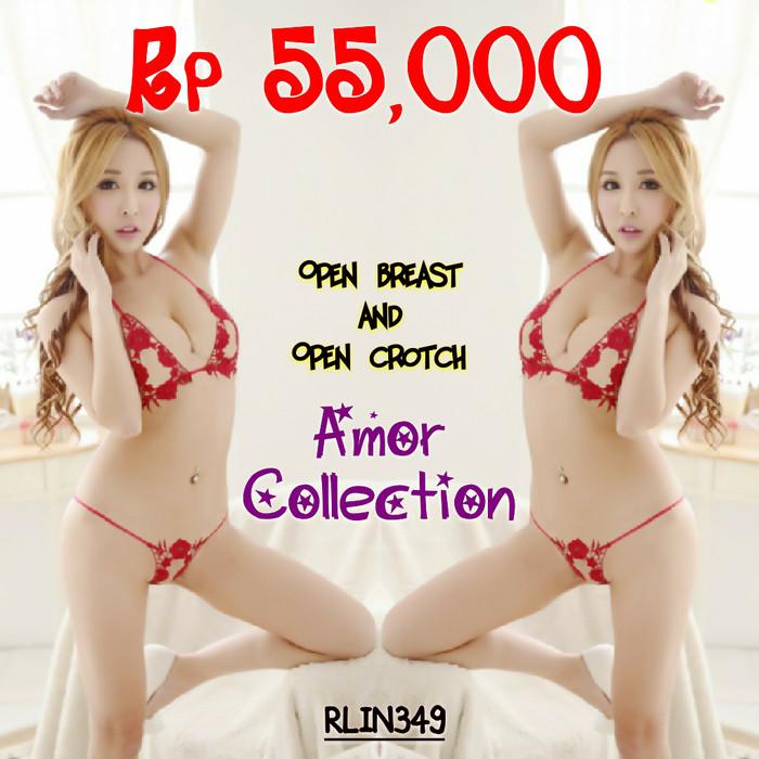 Jual Lingerie seksi bra set merah (RLIN349) By AMOR COLLECTION ... da88100279
