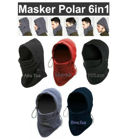 harga Masker buff motor bahan kain polar 6 in 1 multifungsi topi kupluk dll Tokopedia.com