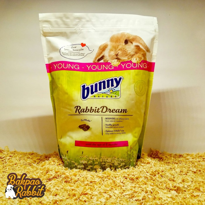 Foto Produk BUNNY NATURE RABBIT DREAM YOUNG 1500G dari Bakpao Rabbit