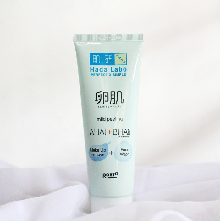 Hada Labo Tamagohada Makeup Remover + Face Wash 50ml