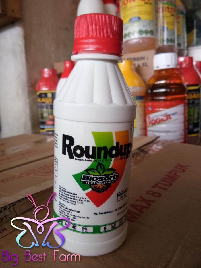 Obat Pembasmi Rumput Herbisida Round up 486 SL 200 ml