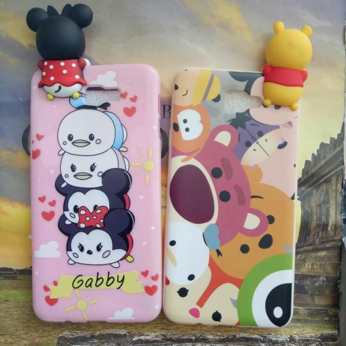 Case SAMSUNG J7 Prime softcase Boneka intip 3D case Lucu