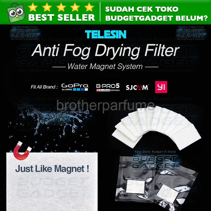 Foto Produk Best Seller Anti Fog Drying Filter Insert for Xiaomi Yi GoPro 12Pcs dari Brotherparfume