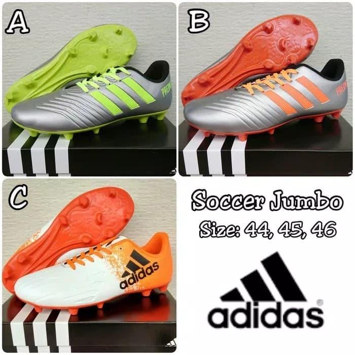 Update Harga Sepatu Bola Ukuran Besar Jumbo Big Size 44 45 46 Kode ... 8535772a08